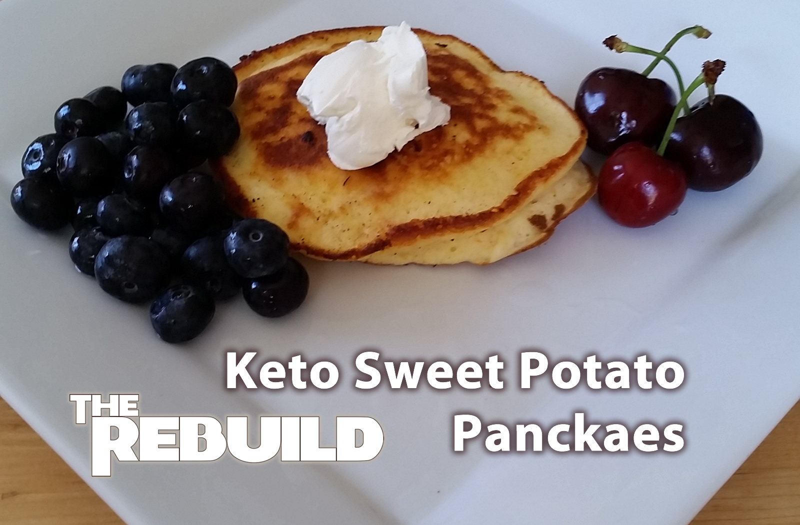 Keto Sweet Potato Pancakes… or Waffles…