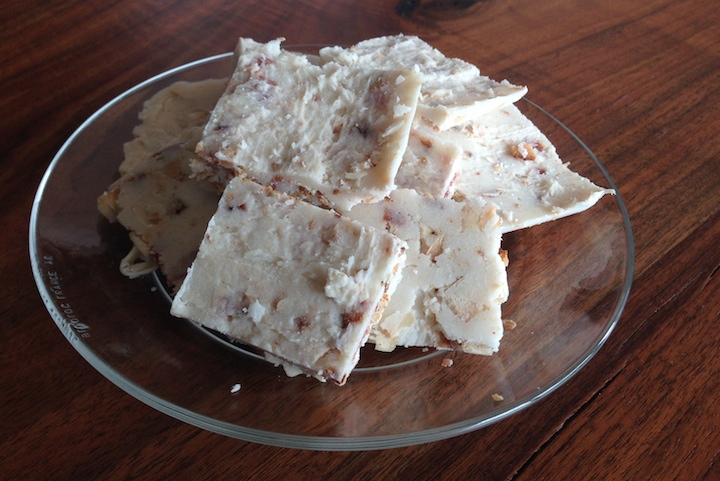 Keto Coconut Bacon Fudge